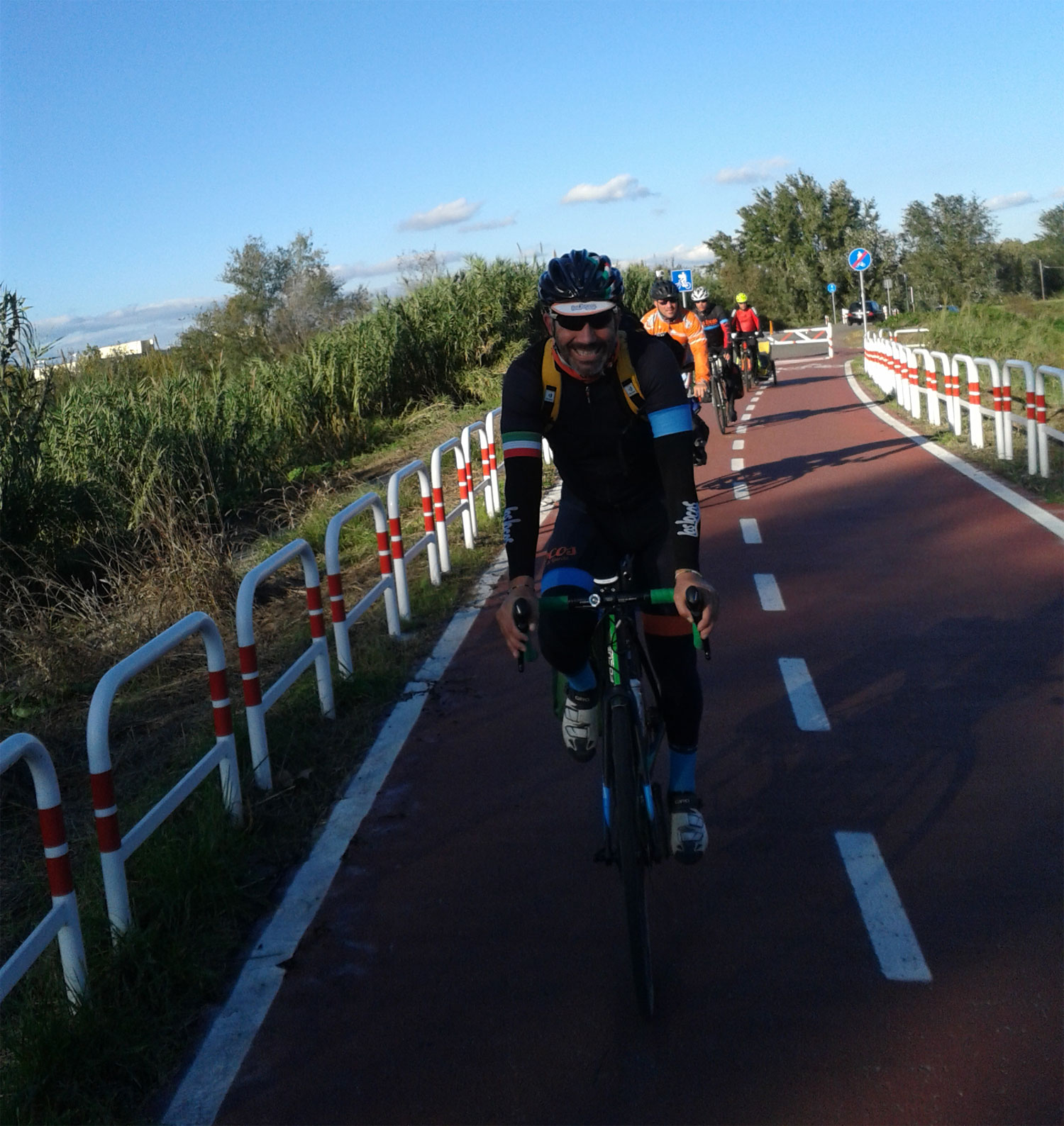 Paolo, Addetto alle consegne, Bike Tour Guide.